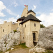 Stock Photo: Silesia region - Bobolice Castle.
