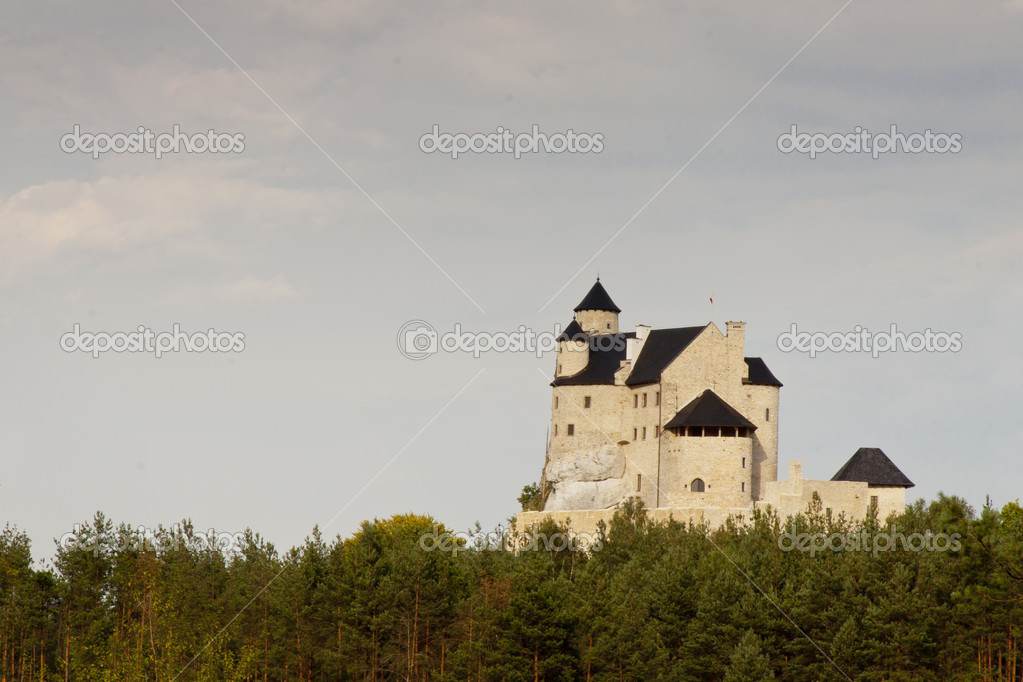 Bobolice Castle - Poland — Stock Photo #13517685