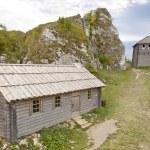 oude nederzetting op birow berg — Stockfoto