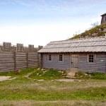 birow berg - oude dorp — Stockfoto