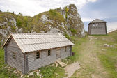 Old settlement on Birow mountain. — Stock Photo