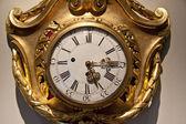 Old golden clock — Stock Photo