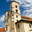 Stock Photo: Benedictine monastery in Tyniec, Poland.