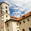 Buildings of Benedictine monastery - Tyniec — Stock Photo