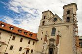 Tyniec - monasterio benedictino. — Foto de Stock