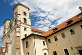 Stavby benediktinského kláštera - tyniec — Stock fotografie