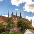 Stock Photo: Cathedral on hill in Frombork.