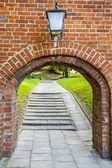Gamla gate - frombork — Stockfoto