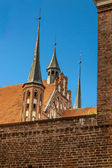 Frombork - view on Cathedral. — Stock Photo