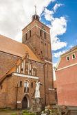 Reszel-教会. — 图库照片