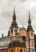 Famous church in Holy Lipka - Poland. — Stock Photo