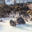 Stock Photo: Spa in Blue Lagoon on Iceland