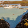Spa dans le lagon bleu - Islande — Photo