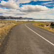 Empty route to Grindavik - Iceland — Stock Photo