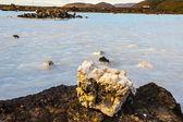 Volcanic water - Blue Lagoon, Iceland — Stock Photo