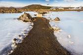 Iceland - Spa Blue Lagoon. — Stock Photo