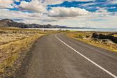 Empty route to Grindavik - Iceland — Stock Photo