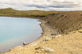 Kleifarvatn lake - Iceland. — Stock Photo