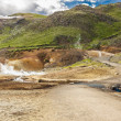 Stock Photo: Iceland - geothermal area near Grindavik.