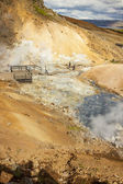 Geothermal area - Iceland. — Stock Photo