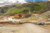 Iceland - geothermal area near Grindavik. — Stock Photo
