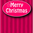 Stock Vector: Merry christmas text