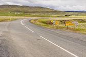 перекресток - исландия. — Стоковое фото