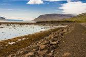 Kollafjordur fjord - Iceland. — Stock Photo