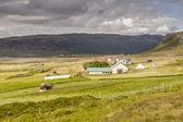 Muli dorp - ijsland, vestfjord. — Stockfoto
