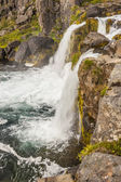 Rapid river - Westfjords, Iceland. — Foto Stock