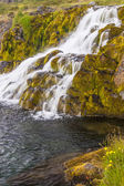 Clean water - waterfall, Iceland. — Stock Photo
