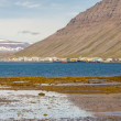 View on Isafjordur town - Iceland. — Stock Photo