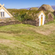 Typical Icelandic farm - Glaumber, Iceland. — Stock Photo #18335475