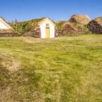 Glaumber farm - Iceland. — Stock Photo
