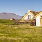Glaumber old farm - Iceland. — Stock Photo