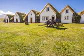 Stare tradycyjne islandzkie gospodarstwo - glaumber — Zdjęcie stockowe