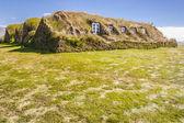 Glaumber old traditional Icelandic farm. — Stock Photo