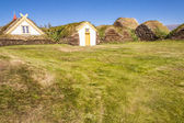 Glaumber farm - Iceland. — Stock Photo