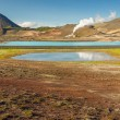 Stock Photo: Hot springs in Myvatn area - Iceland.