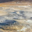 Namafjall hot springs - Myvatn area, Iceland. — Stock Photo