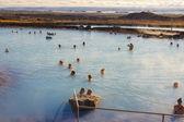 Jardbodin Lagoon - Iceland. — Stock Photo