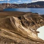 vitio sıcak bahar ve oskjuvatn Gölü - İzlanda — Stok fotoğraf #18743323