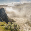 Dettifoss largest waterfall in Europe - Iceland. — Stock Photo #19006877
