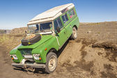 4x4 voiture - voyages en islande. — Photo