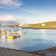 Djupivogur - small fishing town in Iceland — Stock Photo