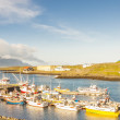 Stock Photo: Fishing village - Djupivogur, Iceland.