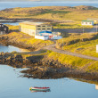 Stock Photo: Icelandic small fishing village - Djupivogur