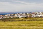Porshofn village - north part of Iceland. — Stock Photo