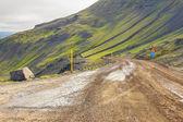 Mountain route 917 - Iceland. — Stock Photo