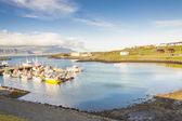 Djupivogur - small fishing town in Iceland — Stock Photo